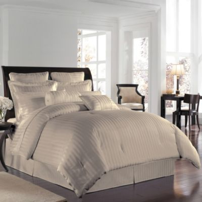 Wamsutta® 500 Damask Comforter Sets in Cobblestone