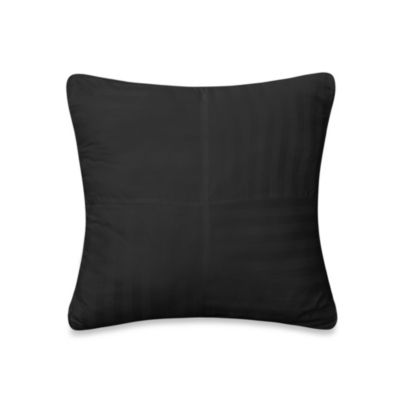 Wamsutta® 500 Damask Square Pillow in Slate