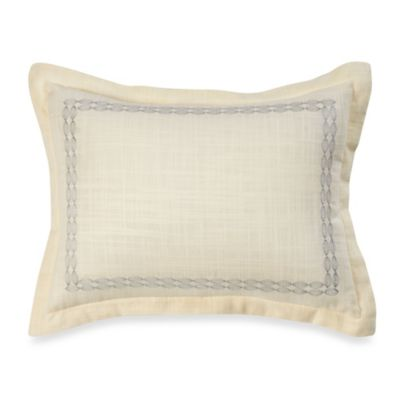 Tommy Bahama® Trellis Oblong Toss Pillow in Sea Mist