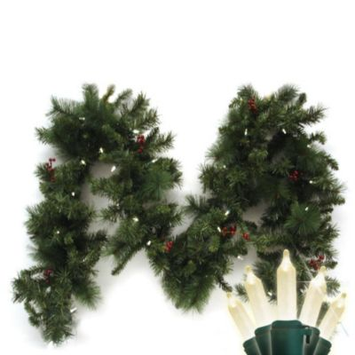 9 Battery Operated Christmas Garland