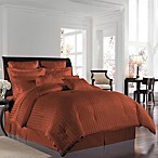 Wamsutta® 500 Damask Comforter Sets in Rust