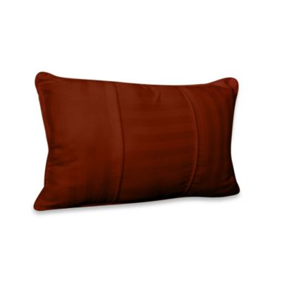 Wamsutta® 500 Damask Breakfast Pillow in Rust