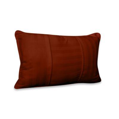 Wamsutta® 500 Damask Breakfast Pillow in Rust