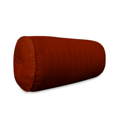 Wamsutta® 500 Damask Bolster Pillow in Rust