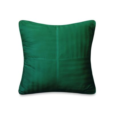 Wamsutta® 500 Damask Square Pillow in River