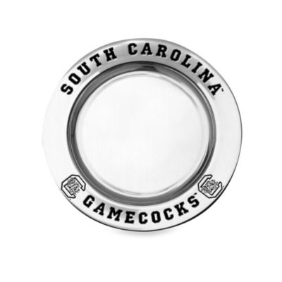 Wilton Armetale University of South Carolina Small Round Tray