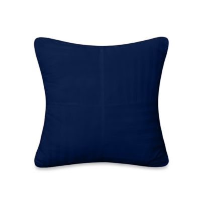 Wamsutta® 500 Damask Square Pillow in Nautical Blue