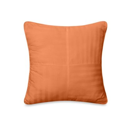 Wamsutta® 500 Damask Square Pillow in Coral