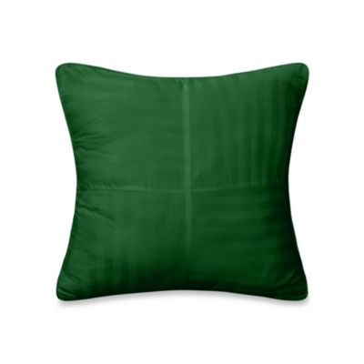 Wamsutta® 500 Damask Square Pillow in Hunter