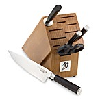 Shun Classic 6-Piece Knife Block Set and Open Stock Cutlery