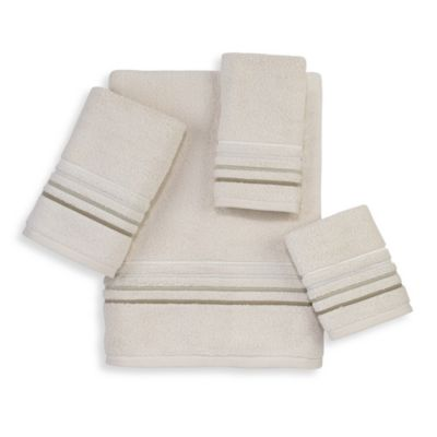Avanti Madison Napa Washcloth in Ivory