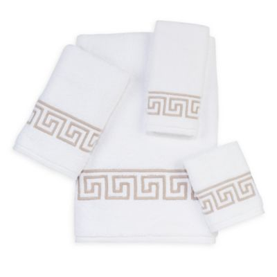 Madison by Avanti Sutton Fingertip Towel in White