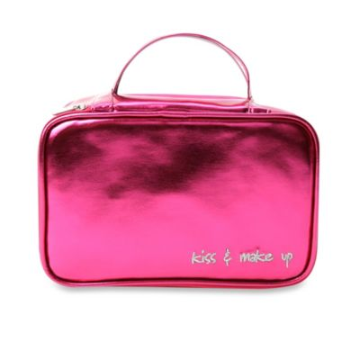 MIAMICA® Inner Beauty 2-in-1 Cosmetic Case in Fuschia