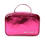 Miamica Inner Beauty 2-in-1 Cosmetic Case in Fuschia