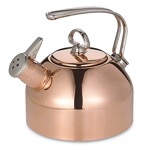 Chantal 1 8 quart copper tea kettle bed bath beyond - Chantal teapots ...