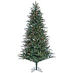 Natural Cut Christmas Trees Pre-Lit with Clear Lights