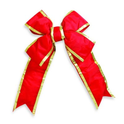 Red Outdoor Bows