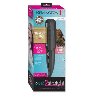 Remington® Wet 2 Straight 2-Inch Flat Iron