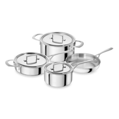 Zwilling® Sensation 7-Piece Stainless Steel Cookware Set