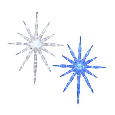 Vickerman 17-Inch Blue LED Starburst Light