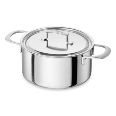 Zwilling® Sensation 5.5-Quart Stainless Steel Covered Dutch Oven