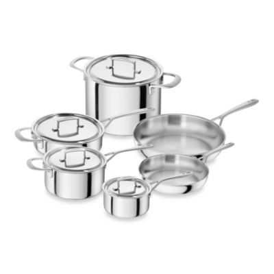 Zwilling® 10-Piece Stainless Steel Cookware Set