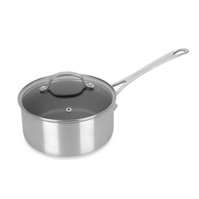 Kevin Dundon 2.5-Quart Aluminum Nonstick Covered Saucepan