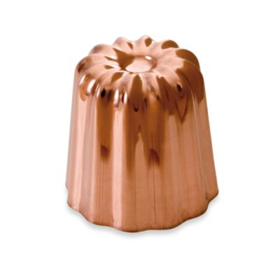 Mauviel M'Passion 2.1-Inch Copper Tinned Canele Mold