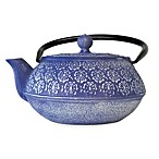 Primula® Cast Iron 40-Ounce Teapot in Blue