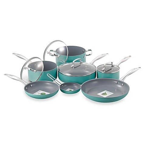 Fiesta 11-Piece Aluminum Cookware Sets