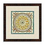 Tile Motif 1 Framed Art