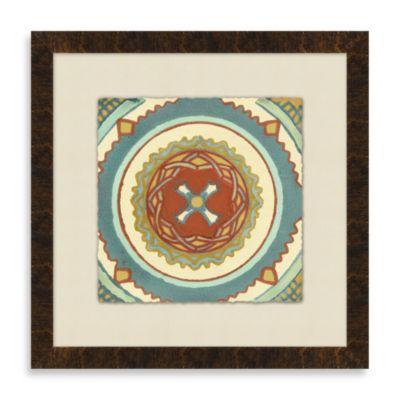 Tile Motif 2 Framed Art