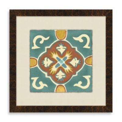 Tile Motif 3 Framed Art