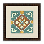 Tile Motif 3 Framed Art