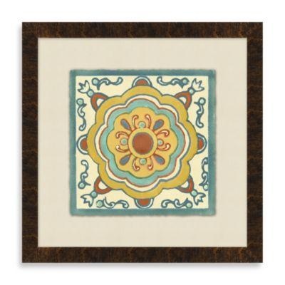 Tile Motif 4 Framed Art