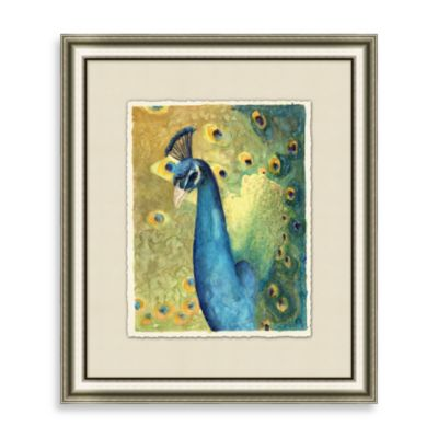 Peacock 2 Framed Art