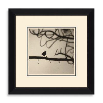 """""""Bird Silhouette"""" Framed Art 1"""