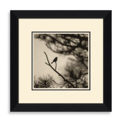 """Bird Silhouette"" Framed Art 2"