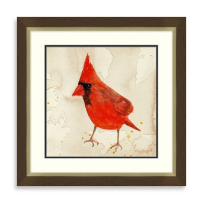 Cardinal 2 Framed Art