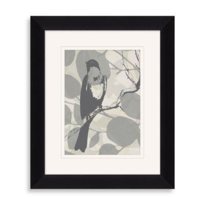 """""""Layered Bird"""" Framed Art 1"""