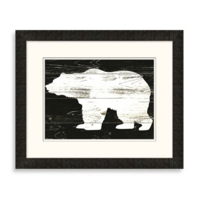 """Bear Panel"" Framed Art 2"