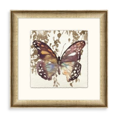 """Butterfly Garden"" Framed Art 1"