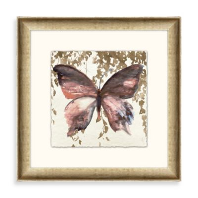 """Butterfly Garden"" Framed Art 2"
