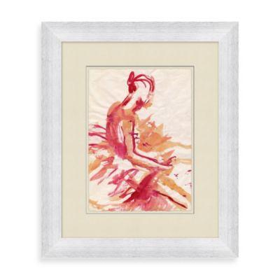 Ballerina 2 Framed Wall Art
