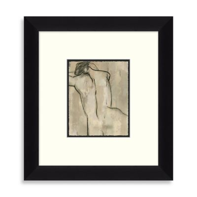 Charcoal Nude 2 Framed Art