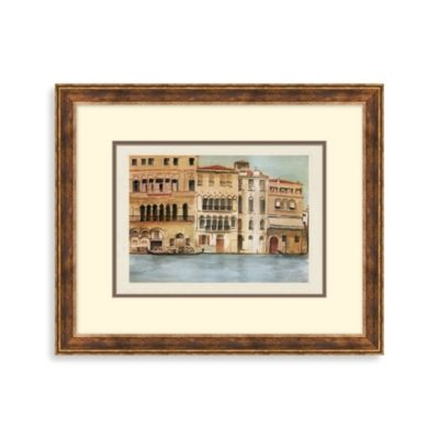 Venice Canal 1 Framed Art
