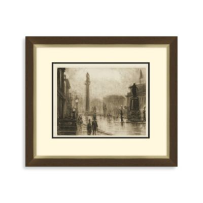"""London Study"" Framed Art"