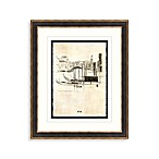 Etchings of Venice 1 Framed Art