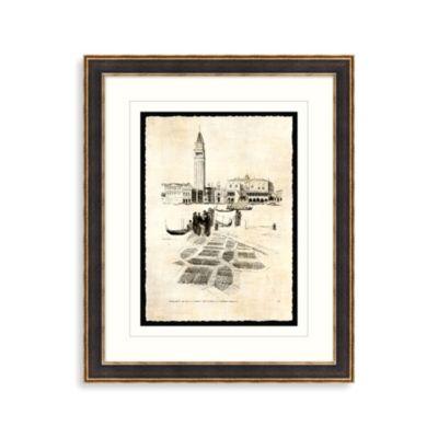 Etchings of Venice 2 Framed Art