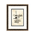 Etchings of Venice 2 Framed Art